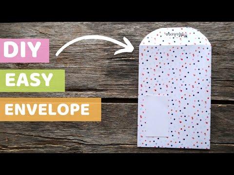 Easy DIY Envelopes – Low Cost Packaging for Etsy – TUTORIAL