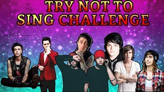 TRY NOT TO SING CHALLENGE (emo edition)