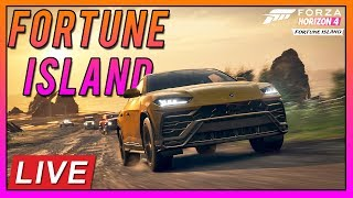 🔴[Live]Forza Horizon 4: Fortune Island FIRST LOOK!!