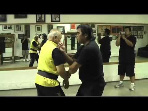Eddie Chong - Pan Nam Wing Chun Application