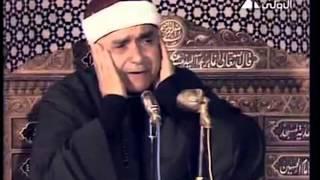 Sheikh Mustafa Ismail | Surah Tahrim | AMAZING***