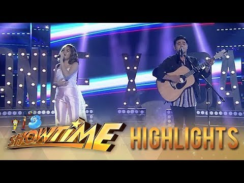 Janine Berdin and Dan Ombao serenade the Madlang People | It's Showtime
