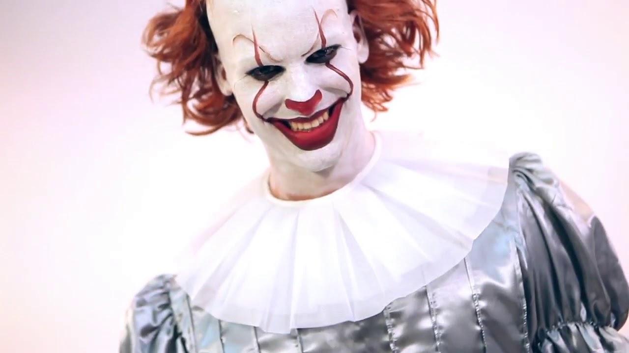foto de Disfraz de Payaso del Terror para hombre YouTube