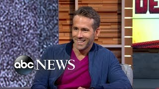 Ryan Reynolds opens up about 'Deadpool 2' live on 'GMA'