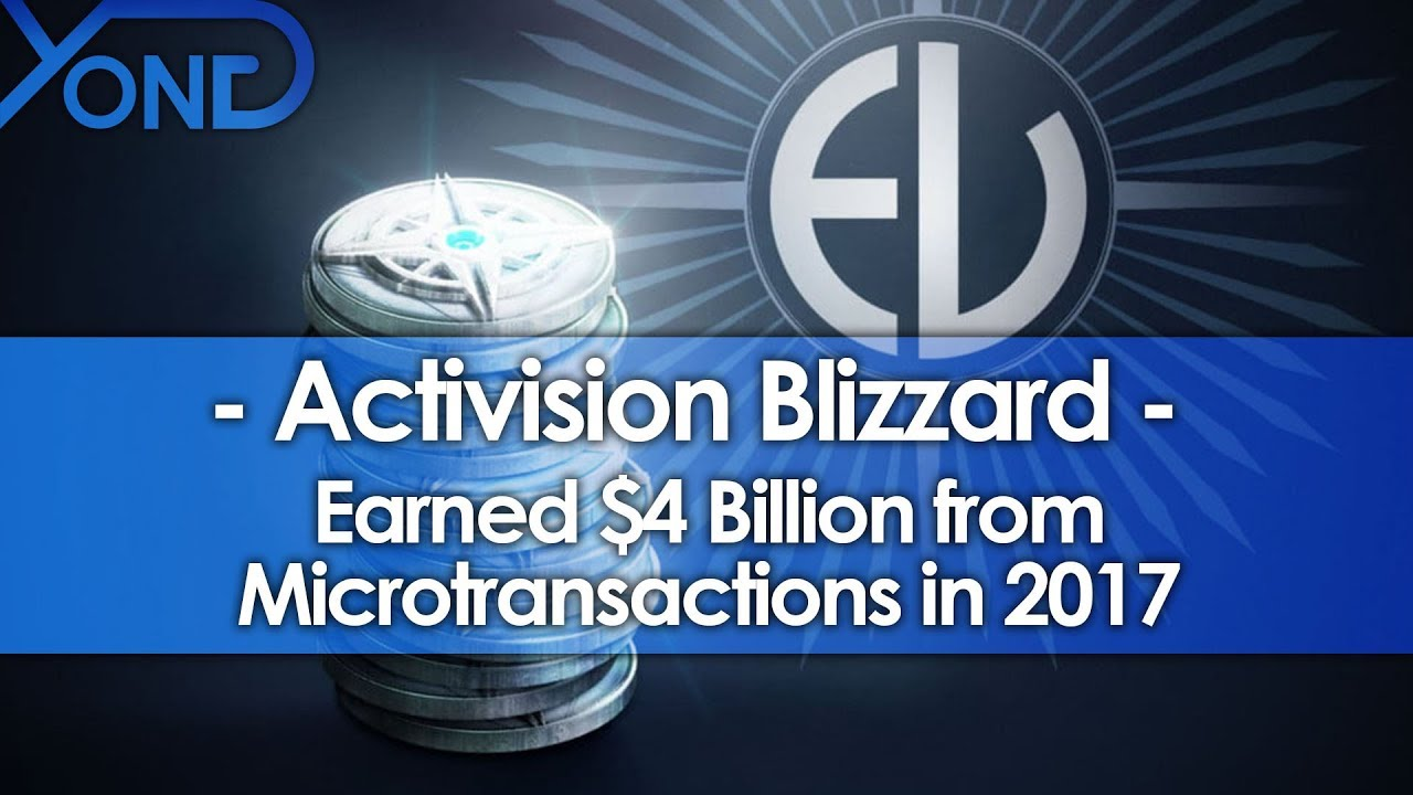 Activision Blizzard Earned $4 Billion from ...