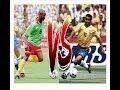 Romário vs Roger Milla (Brasil vs Camarões - Copa do Mundo 1994) parte 1/4