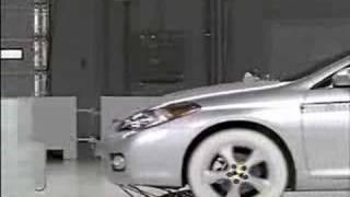 Crash Test 2007 Toyota Camry Solara IIHS