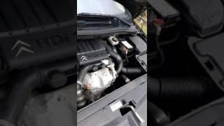 Bruit suspect moteur citroën c4 coupé hdi 92 cv