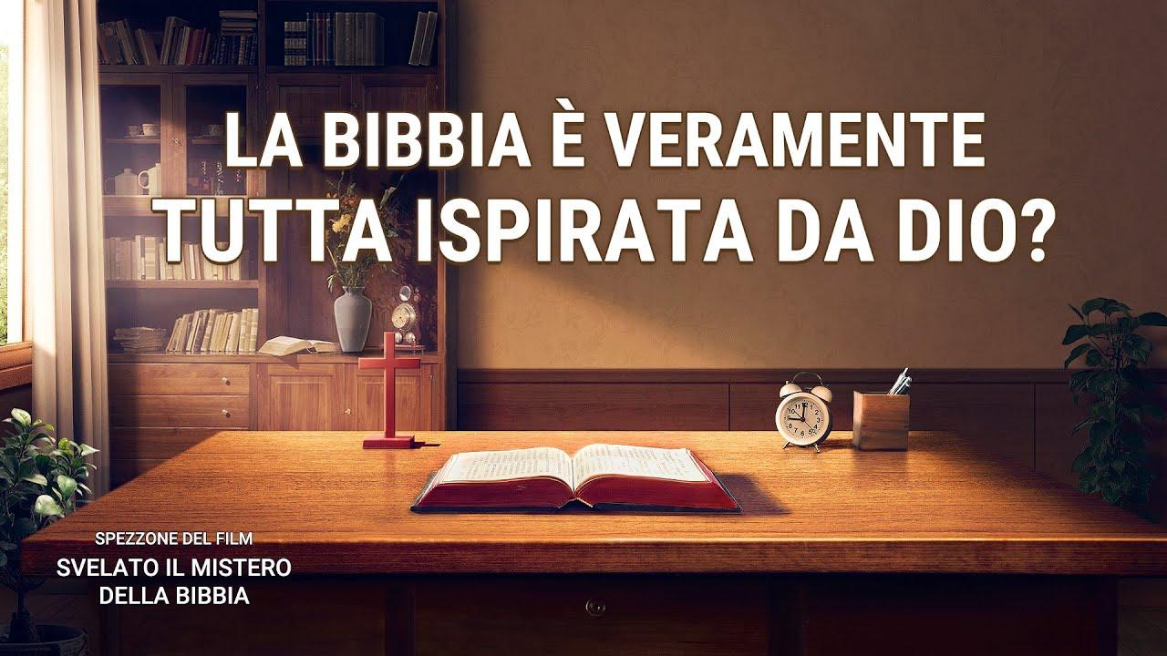 """Spezzone del film """"Svelato il mistero della Bibbia"""" - La Bibbia è veramente tutta ispirata da Dio?"""