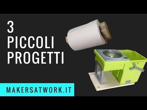 Fai da TE - Tre piccoli progetti: Carrellino, Portarotoli,Mensole
