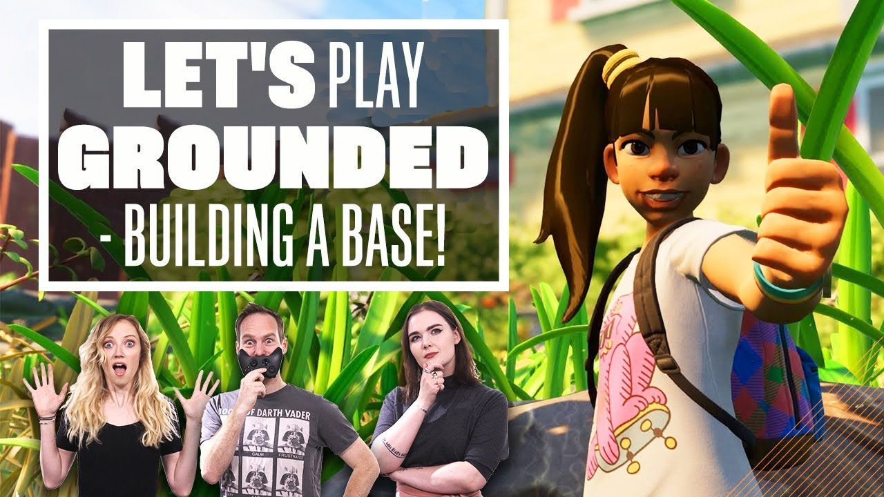 Let's Play Grounded Multiplayer - BUILDING BASES AND FIGHTING SPIDERS? - Eurogamer