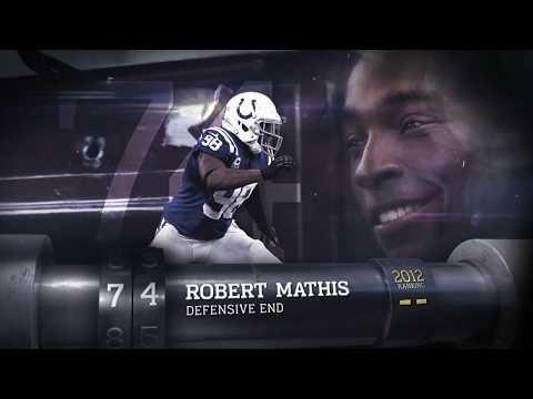 #74 Robert Mathis (DE, Colts)   Top 100 Players of 2013   NFL