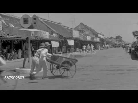 Suasana Jalanan Di Bandung Pada Masa Hindia Belanda
