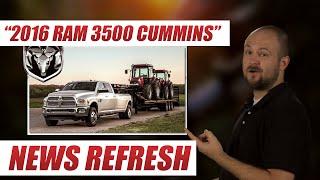 2016 RAM 3500 6.7L Cummins Destroys Ford