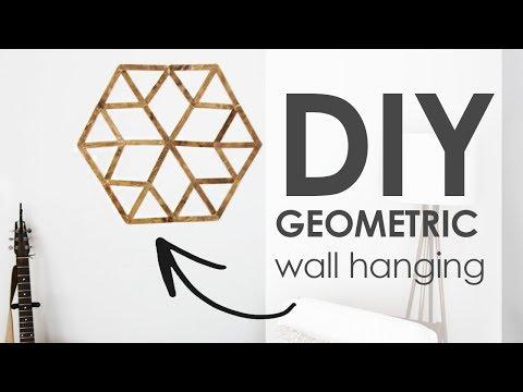 DIY | Geometric Wall Hanging