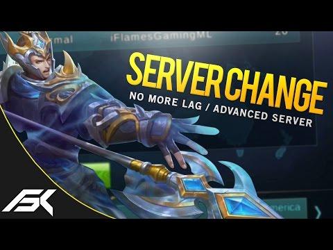 Mobile Legends: NEW SERVER CHANGE FEATURE! (LAG FIX