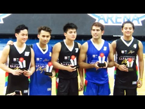 Kapamilya Playoffs 2016 | The MYTHICAL FIVE - Axel, Young JV, Ronnie, Gerald,  Daniel