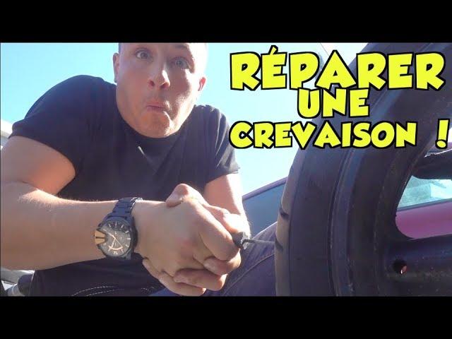 Tutoriel : réparer son pneu comme un pro !