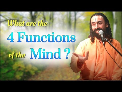 How does mind function | Four functions of mind | Swami Mukundananda | JKYog Retreat Q&A