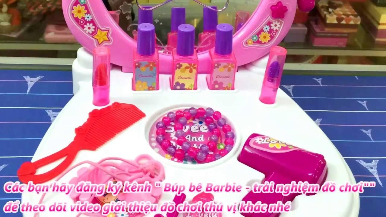 Bàn trang điểm đồ chơi cho bé gái
