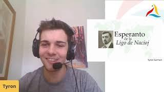 VK 2020: UN 75-jara/Jaro Hodler: Esperanto kaj la Ligo de Nacioj (Tyron Surmon, Britio)
