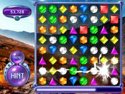Bejeweled 2 Deluxe Classic Mode Part 3 Youtube