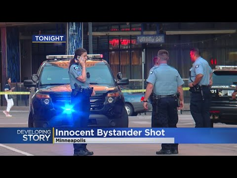 Police: Innocent Bystander Shot In Downtown Mpls.