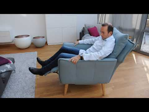 moderner Relaxsessel Funktionsessel Sessel mit Funktion von place to be