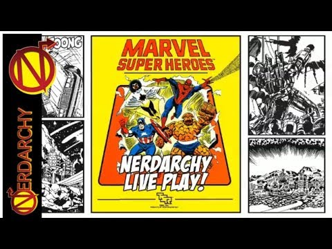 (S2/E3)  Marvel Super Heroes Role-Playing Game Live Play