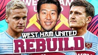 REBUILDING WEST HAM UNITED!!! FIFA 20 Career Mode