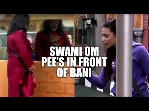 Bigg Boss 10 | Day 49 | Swami Om Pee's in...