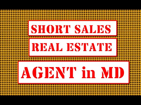 Short Sale Real Estate Agents in Maryland