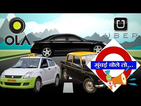 Mumbaikars suffer stir against Ola, Uber | Mumbai Live