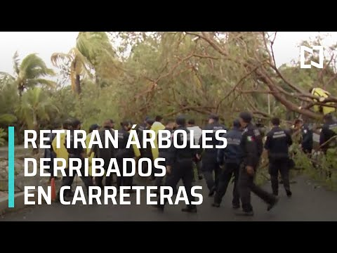 Se mantiene alerta roja por 'Delta', Cancún - Expreso de la Mañana