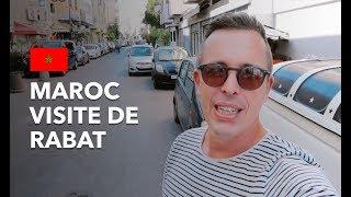 MAROC ???????? VISITE DE RABAT (JE MANGE LE MEILLEUR COUSCOUS DE RABAT)