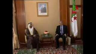 رئيس البرلمان العربي يجري مباحثات برلمانية هامة مع رئيسي غرفتي البرلمان الجزائري 2014 م