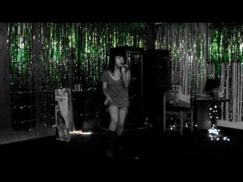 Jess doing Billie Jean on the mic