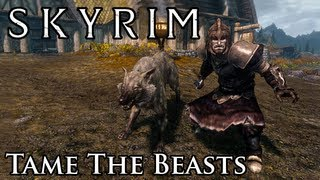 Skyrim Mod: Tame The Beasts of Skyrim
