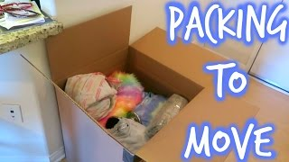 PACKING TO MOVE | SISTER SUMMER