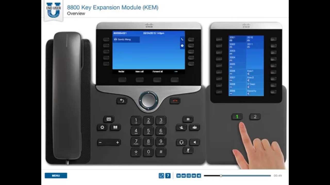 Cisco 8861 Mulitplatform SIP Phone | ProVu Communications