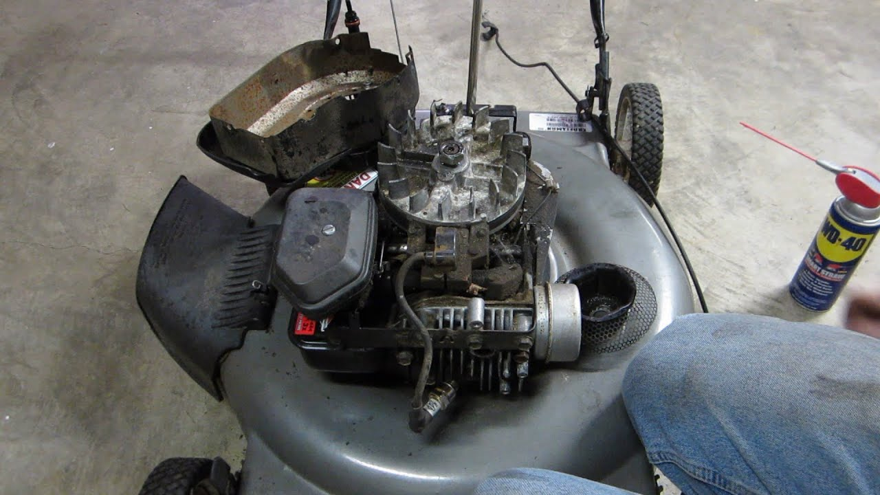Sears Craftsman The Fix Lawn Mower - Craigslist Find ...