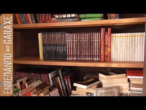 Estante de armario para libros reforzado  YouTube