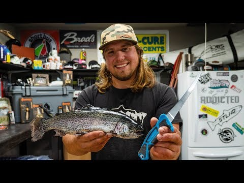 How To Clean and Gut Stocked & Wild Trout