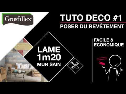 Tutoriel Pose Revtement Mural PVC Dcoratif Grosfillex 120 M