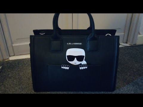 Karl Lagerfeld Ikonik Tote Bag Reveal!