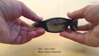 Oakley Straight Jacket - Polished Black/Matte Black - Black Iridium Polarized