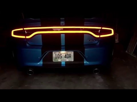 2016 Dodge Charger Hellcat stock exhaust