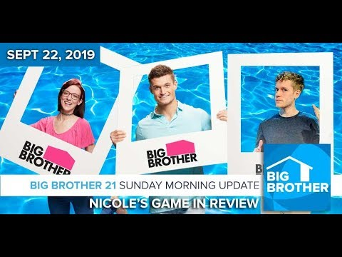 Nicole's Big Brother 21 Game in Review #BB21
