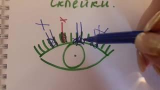 ГЛАВНЫЕ И ОСНОВНЫЕ ОШИБКИ, при наращивание ресниц The MAIN ERRORS for eyelash extensions