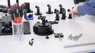 Montages Optomécaniques : exemple du monochromateur